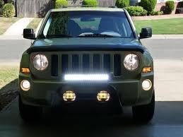jeep patriot led light bar google da ara