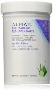 almay oil free eye makeup remover pads 120 count make up remover wipes