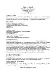 What Should A Resume Look Like For A College Student Accounting Graduate  And One Page Format