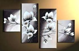 modern canvas wall art wall art canvas elegant blooming flowers floral oil painting wall art modern on canvas floral wall art with modern canvas wall art wall art canvas elegant blooming flowers