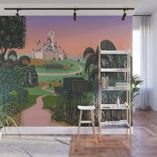 dream for a castle wall mural by