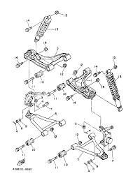 1998 yamaha kodiak 400 4wd yfm400fwk front suspension wheel wonderful yamaha kodiak 400 wiring diagram