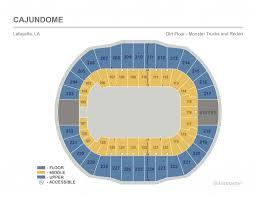 Cajundome Concert Seating Chart Monster Jam Seating Chart Seating Chart
