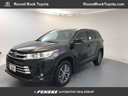2018 New Toyota Highlander XLE V6 AWD at Round Rock Toyota Serving ...