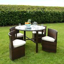 plastic garden table and chairs rattan wicker dining garden furniture set with plastic garden table and