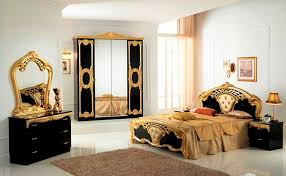 italian bedroom furniture. high gloss black u0026 gold italian bedroom furniture n
