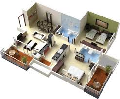 3d floor plan12 architecture 3d floor plan pinterest house