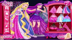 barbie princess makeup and dress up games barbie vs elsa