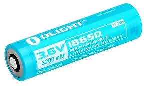 Купить <b>Аккумулятор Li</b>-<b>Ion</b> 3200 мА·ч <b>Olight</b> 18650 ORB-186C32 1 ...