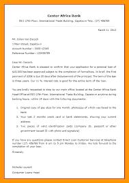 Bank Disbursement Letter Format Bunch Ideas Of 6 Business Loan