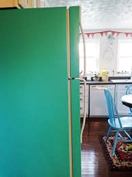 Paint Colors Turquoise Diy Painted Refrigerator Cozy Crooked Cottage