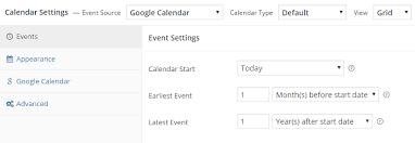 Google Weekly Calendar Template 7 Of The Best Wordpress Event Calendar Plugins For 2019