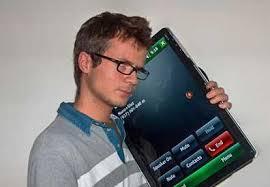 Giant iPhone 1000 on an escalator gif - PandaWhale via Relatably.com