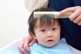 乳児の散髪デビュー自宅で上手にカットする方法や散髪時の注意点
