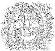 Small Picture Halloween Coloring Pages For Adults Halloween Arts Halloween