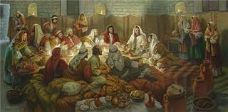 """James Seward Artist Hand Signed Open Edition Canvas Giclee: """"This Is My  Body (The Last Supper)"""" - James Seward"""