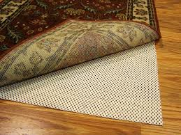 area rug pad slip not jute carpet padding hair