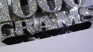 1550 lmj exclusive 1000 grams custom lab made diamond pendant 925