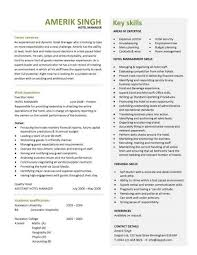 Hotel Manager Cv Template Job Description Cv Example Resume