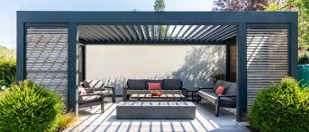 renson louvered covers garden house