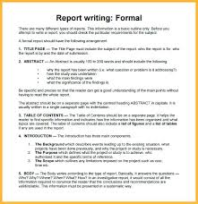 Executive Summary Report Example Sample Format Co Pertaining ...