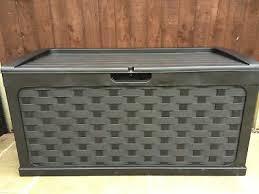 starplast waterproof garden storage box