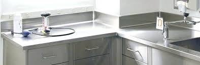 stainless steel countertops cost per square foot