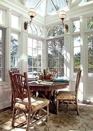 sunroom interiors. Cheery Sunroom Dining By Andrew Maier Interiors, Locust Valley, NY; Rustic Furniture Interiors