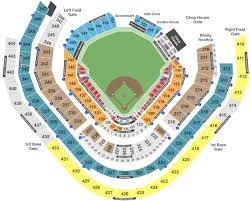 Suntrust Park Seating Chart With Rows Suntrust Park Tickets With No Fees At Ticket Club