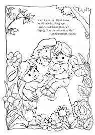Free Coloring Pages Of Jesus With Children Color Bros