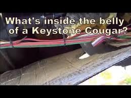 inside the belly keystone cougar 276rlswe fifth wheel loveyourrv