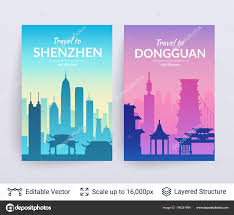 Flat Well Known Silhouettes Vector Illustration Easy Edit Flyers Web