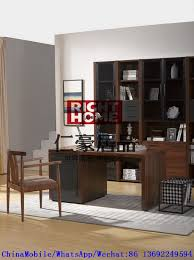 furniture study room. 2016 New Nordic Design Study Room Furniture By Walnut Wood Office Desk With Armchair And In Wall Bookcase Cabinet R