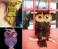 macrame owl necklace instructions