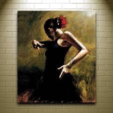 fabian perez dancer in black paintings