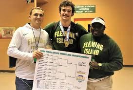 State wrestling champion profile: Chad Nix, Fleming Island ...
