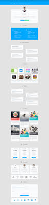 Material Design Personal Cv Ui Ue Design Web Software