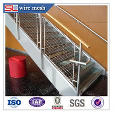Decorative Wire Tray Stairway Decorative Stainless Steel Wire Rope Meshcable Tray Buy 27