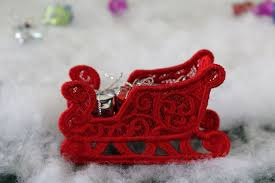 Free Standing Lace Easter Designs Sleigh Ornament Free Standing Lace
