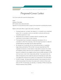 Sales Proposal Cover Letters Rome Fontanacountryinn Com