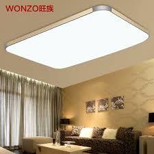 clan slim led ceiling lamp modern minimalist rectangular large living room balcony bedroom lighting fixtures in ceiling lights from lig