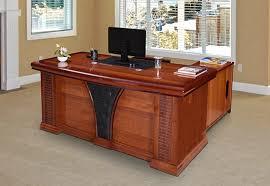 office furniture desk vintage chocolate varnished. 50% Off Office Furniture Desk Vintage Chocolate Varnished L