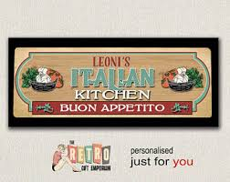 Bon Appetit Wall Decor Plaques Signs Buon appetito Etsy 87