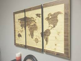 wooden united states map wall art best of 45 ideas of world map wood wall art