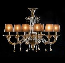 modern gold and crystal glass chandelier bembo