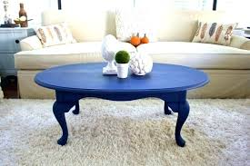 blue painted coffee table paint s full thumbnail medium and white diy rustic full size