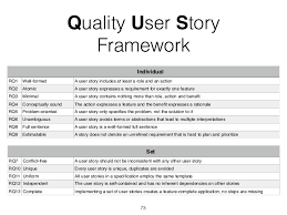 User Story Requirements Template Re Tutorial User Stories