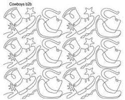 Cowboy b2b | Anne Bright | Digitized Quilting Designs & Digital Quilting Design Cowboy b2b by Anne Bright. Adamdwight.com