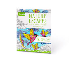 Find bestselling books, toys, fashion, home décor, stationery, electronics & so much more! Crayola Nature Escapes Adult Coloring Art Activity 40 Pages Perforated Pages Easy Framing Crayola