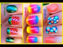 Easy Summer Nail Art 3 Easy Summer Nail Art Designs For Summer 2014